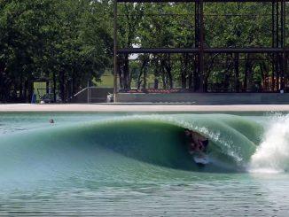 これが人工的に作られた波のシェイプか?