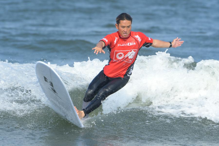優勝した昨年のグランドチャンピオンである浜瀬海。今シーズンもJPSAロングをフォローする。