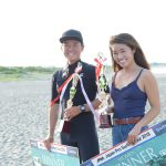 浜瀬海と吉川広夏が今季初優勝。JPSAロングボード第2戦「太東ロングボードプロ」大会最終日リポート