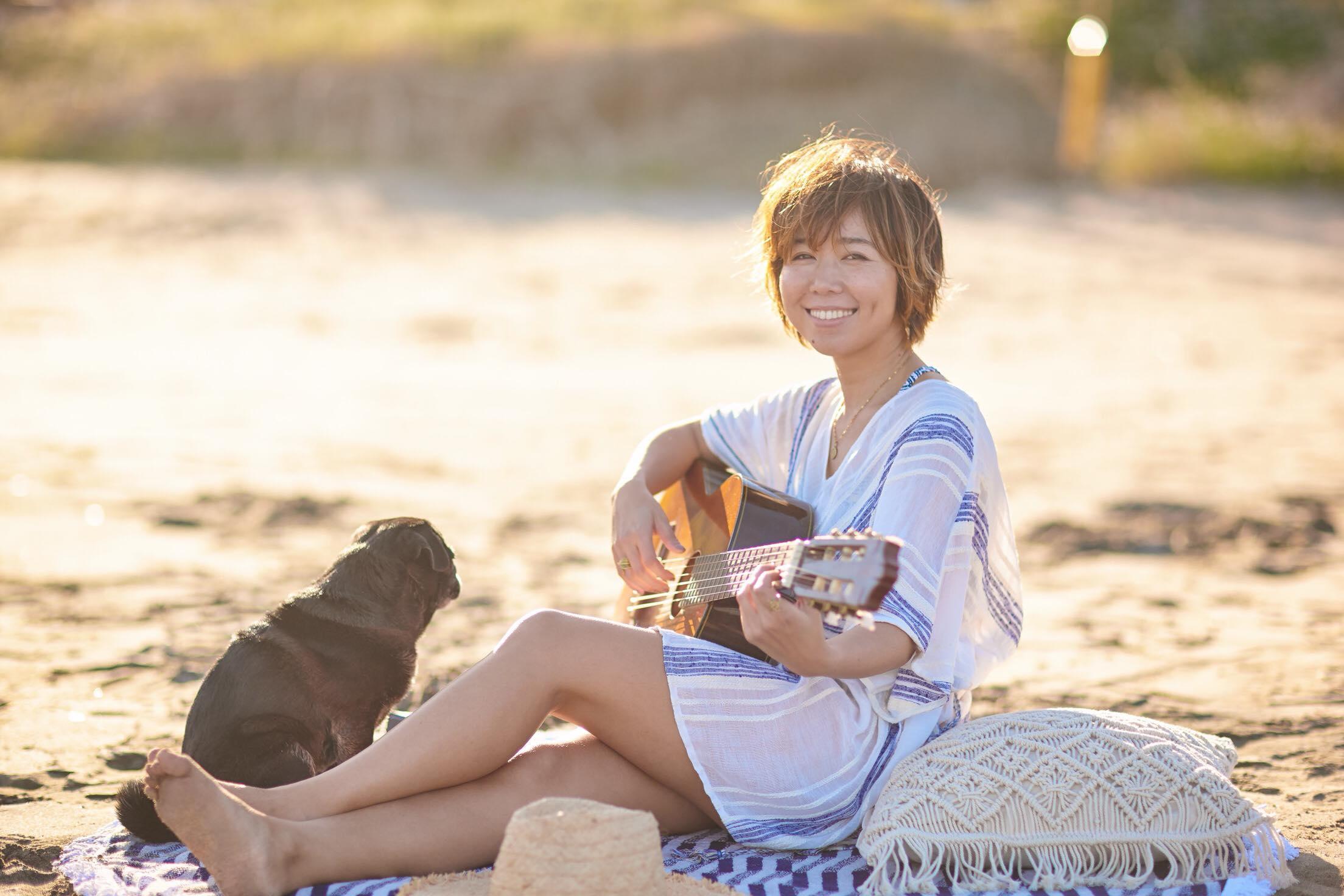 Lisa Halimが、海辺が似合うビーチスタイルミュージック! 洋楽・邦楽のヒットチューン・カバーアルバムをリリース