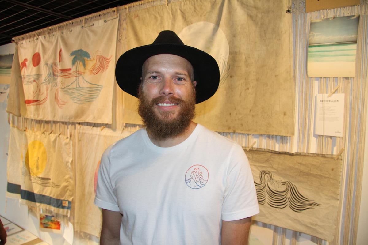 グリーンルームの常連であるマシュー・アレン。ソフトなタッチで日本のファンの心をつかむ、南カリフォルニア出身のアーティスト
