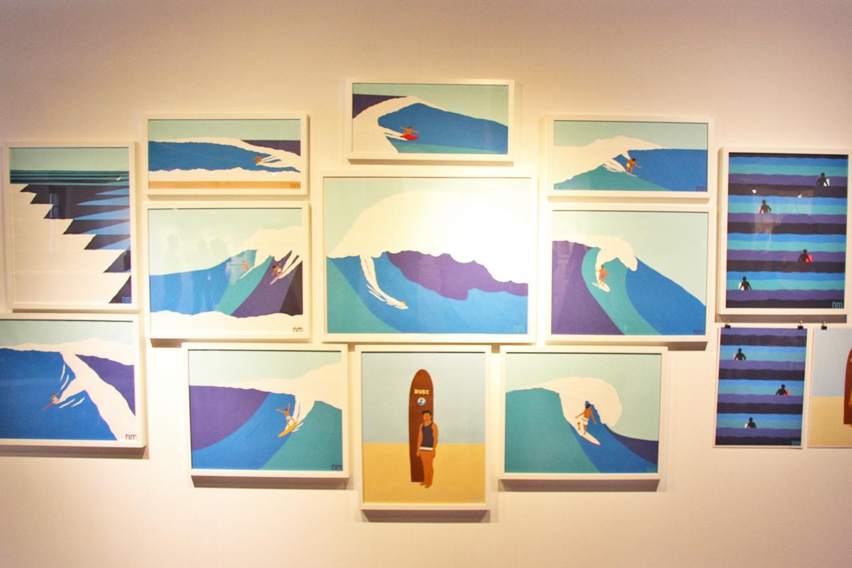 ネイサン・マッキーはオレゴン州、ポートランド在住のイラストレーター・アーティスト。マッキーのイラストレーションはシンプルな線とフラットな色使いによる切り絵
