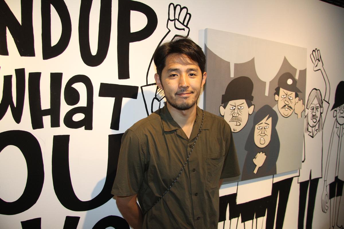 日本の美的感覚とアメリカのレトロなイラストレーションを融合した独自のスタイルを形成し、世界的なアーティストとなった花井祐介