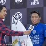 ジャパントライアル優勝は田嶋鉄兵、2位は安井拓海。WSL-QS6000「Ichinomiya Chiba Open」
