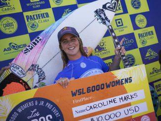 キャロライン・マークス(USA)がQS 6,000ロス・カボ・オープンで優勝。WSL / Andrew Nichols