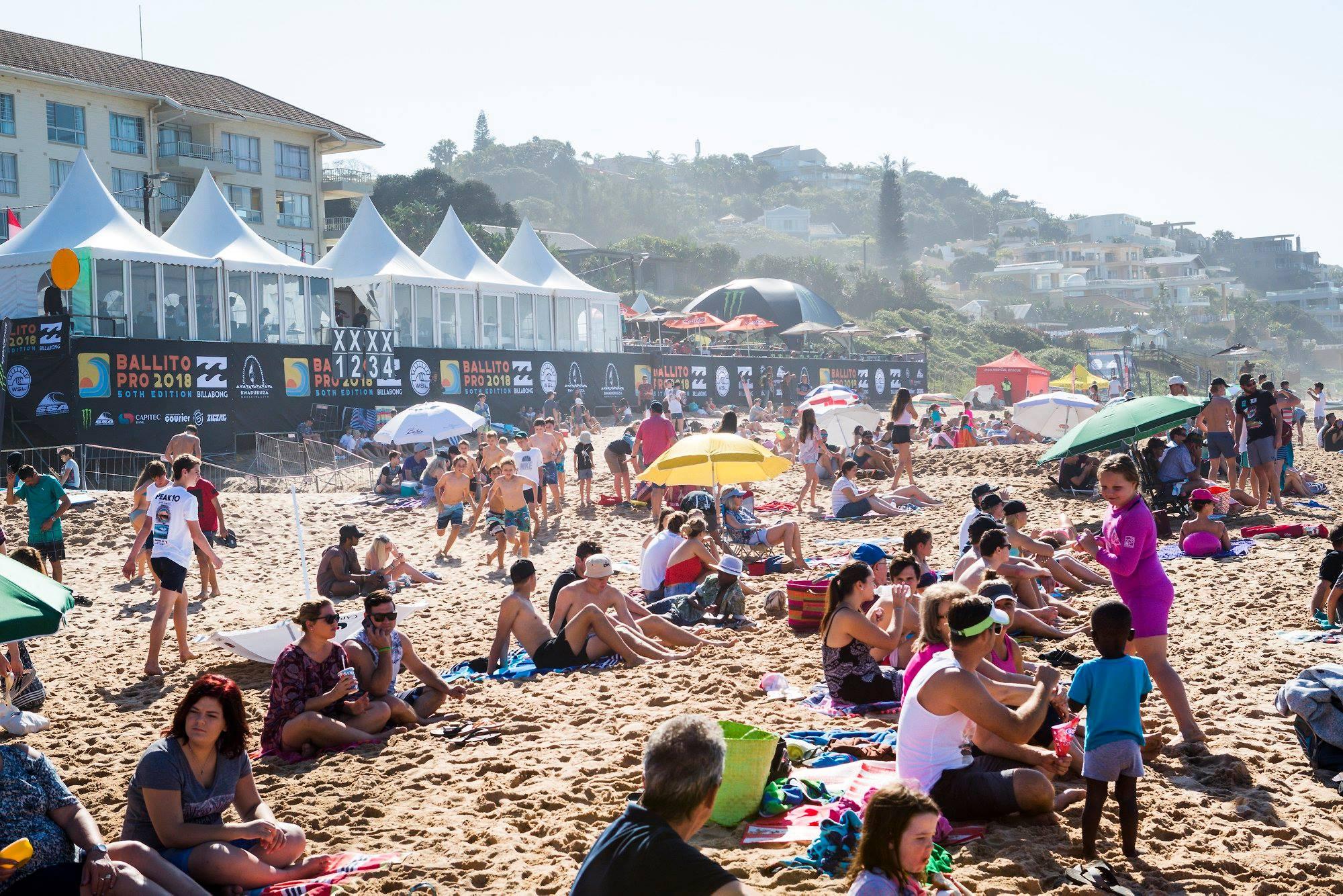 南アフリカで50年続く世界最長のプロ・サーフィン・イベント