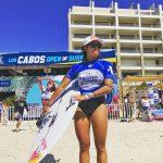 川合美乃里がベスト16進出。WSL女子QS6000イベント「ロス・カボス・オープン・オブ・サーフィン」