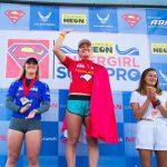 カリッサ・ムーアがQS 6,000「ポール・ミッチェル・スーパーガール・プロ」で優勝。前田マヒナが9位