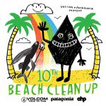 第10回「VOLCOM Patagonia Partner CHP SUN RISE BEACH CLEAN UP」8月5日(日)開催