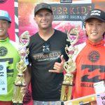 増田来希、川瀬心那、カイ・クシュナー優勝。日本の未来を育てる「ビラボン・スーパーキッズ・チャレンジ」