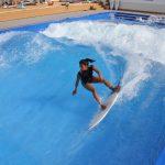鈴木大地長官がサーフィン体験。複合スポーツエンターテインメント施設「スポル品川大井町」オープン