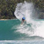 大橋海人がインドネシアのニアス島で開催されたWSLアジア男子QS1000「ニアス・プロ」で準優勝