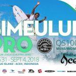 大橋海人、石川拳大と松岡慧斗が参戦。インドネシアのシメルー島で開催のWSL-QS1000「シメルー・プロ」