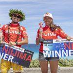 大橋海人と川合美乃里がJPSA「ALL JAPAN PRO 新島」シニア・マスタープロで浦山哲也と岡野教彦が優勝。