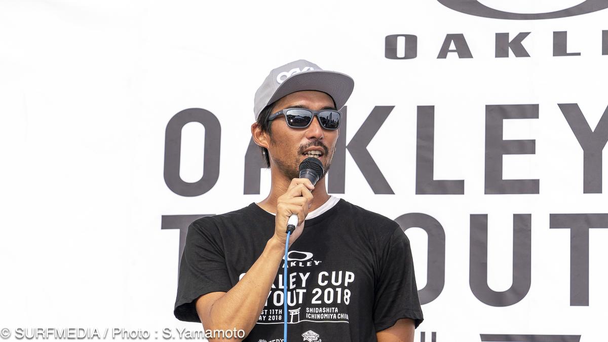 コンテスト・ディレクターの田中樹