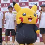 2018 アーバンリサーチ ISAワールドサーフィンゲームス日本代表選手記者会見がスポル品川大井町で開催。
