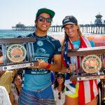 ホームタウン・ヒーローのコートニー・コンローグと五十嵐カノアがVANS USオープンで優勝