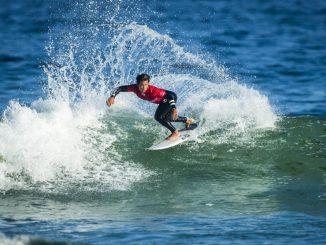バージニアから好調なサーフィンで勝ち上がる大原洋人 WSL / Damien Poullenot