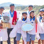 波乗りジャパン、団体で金メダル獲得。54年のISA史上初となる快挙。みんなで勝ち取った勝利。