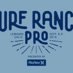 大原洋人がワイルドカード参戦! CT第8戦「SURF RANCH PRO presented by Hurley」9月6日開幕