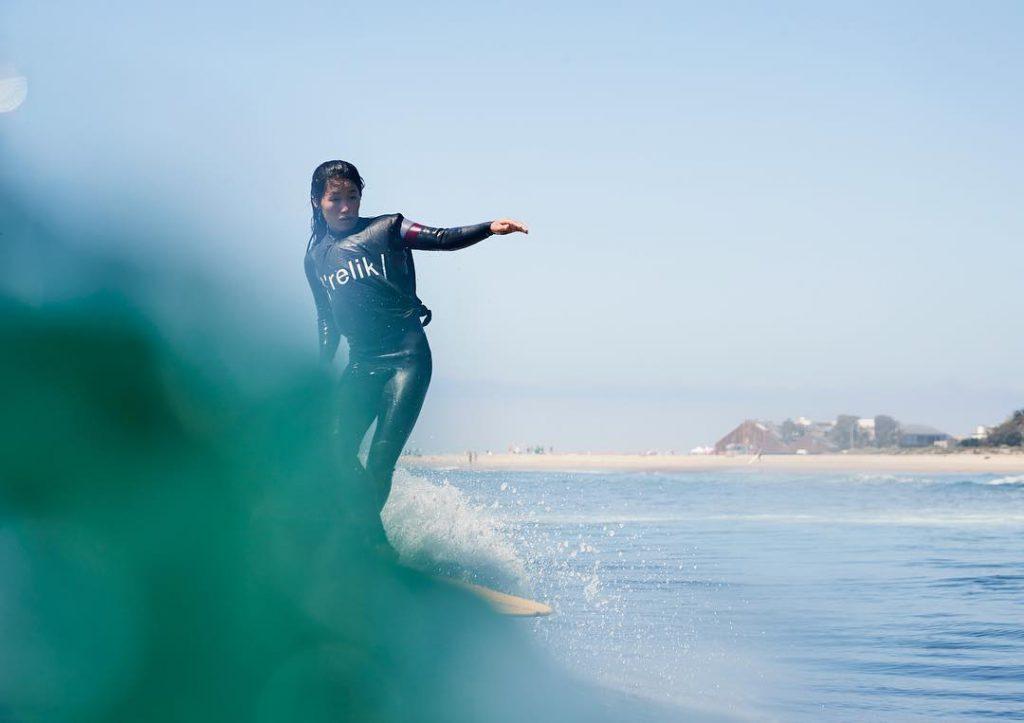 昨年の開幕から3度目の招待選手として参加した吉川広夏 photo:relik