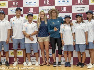 日本代表チームとサリーとポーリン