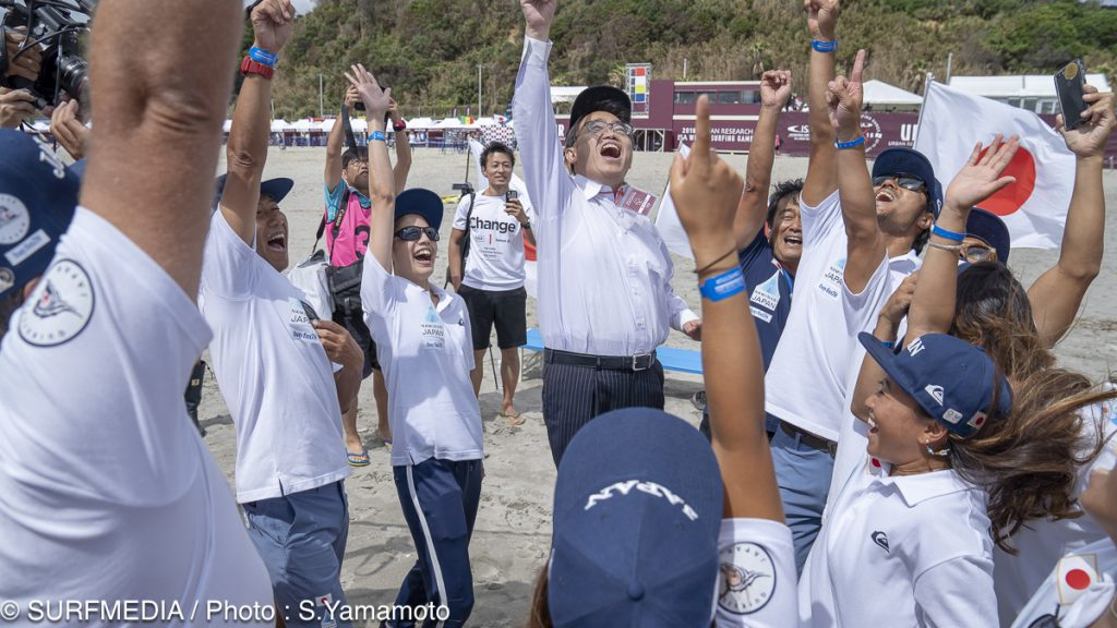 大村秀章 愛知県知事も応援に駆けつけた。