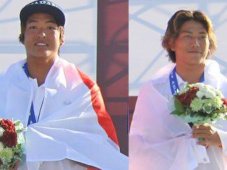 日本サーフィン史に新たなページを加えたカノアとシュン