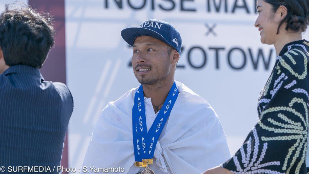 今回チーム・キャプテンとして日本を金メダルへ導いた大野修聖