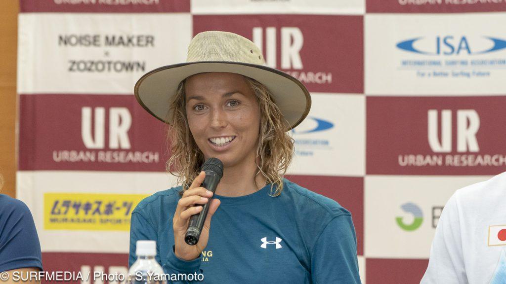 オーストラリアのサリー・フィッツギボンズ(2008年のチャンピオン)