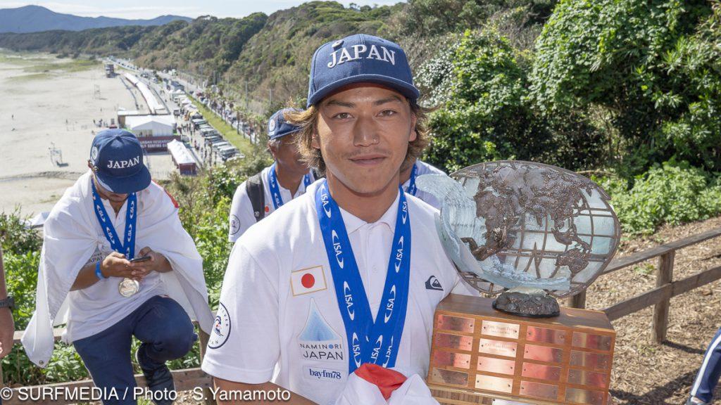 カッパー・メダル:村上舜(JPN)