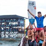 サンディエゴのスキップ・マカローがQS3000「シャルガオ・クラウド9サーフィン・カップ」でQS初優勝