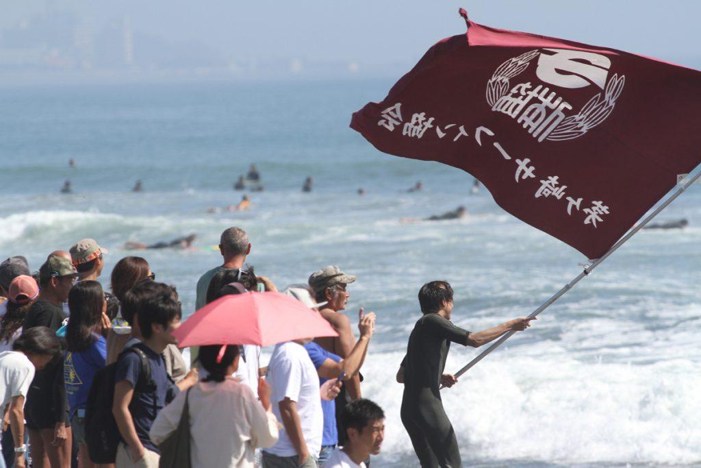 茅ヶ崎サーフィン協会の応援団