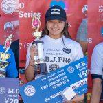 WSL南房総ジュニアプロで金沢呂偉と松田詩野が優勝、WJCアジア代表へ一歩前進。カデット平原颯馬が優勝。