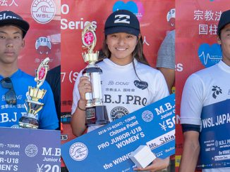 各クラスの優勝者、左から金沢呂偉、松田詩野、平原颯馬