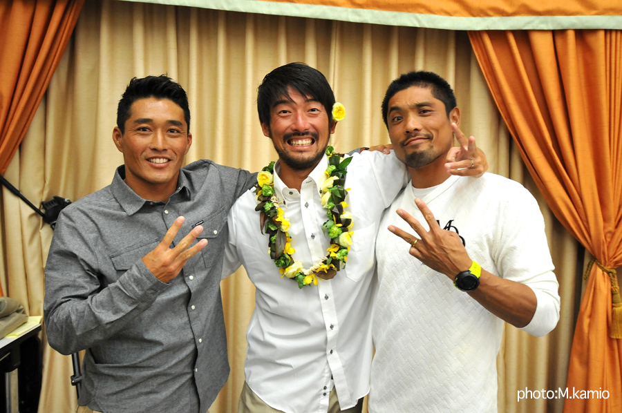 田嶋鉄兵、高梨直人とともにサーフユニット3Tを組んで新たな時代を切り開いた田中樹。