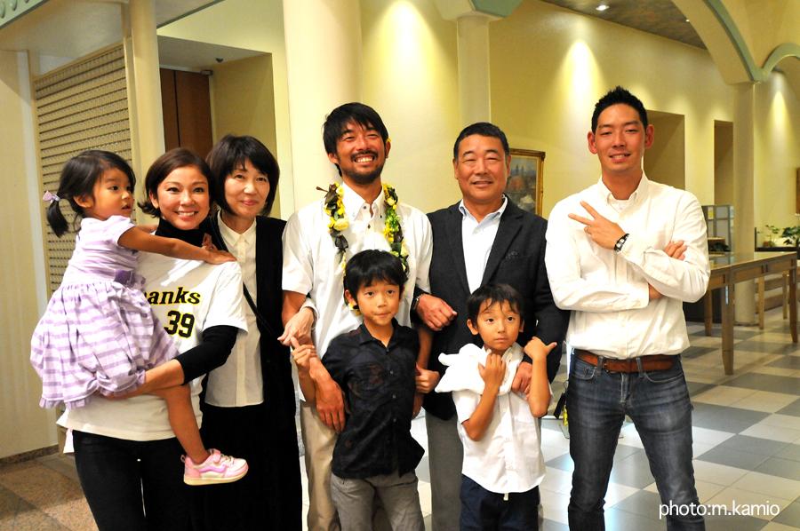 田中樹の活躍は家族の支えがなければ成し得なかったもの。それは本人が一番理解している。家族には感謝の思いしかない。