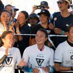 波乗りジャパン、暫定で単独1位。アロハカップ決勝進出。VISSLA ISA 世界ジュニアサーフィン選手権大会