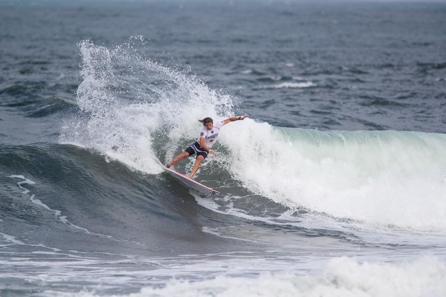 3位のリカルド・クリスティ(NZL)Photo: WSL / Heff
