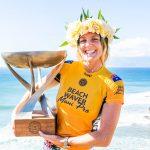 ステファニー・ギルモアは、Beachwaverマウイ・プロで歴史に刻まれる7度目のワールド・タイトルを獲得。