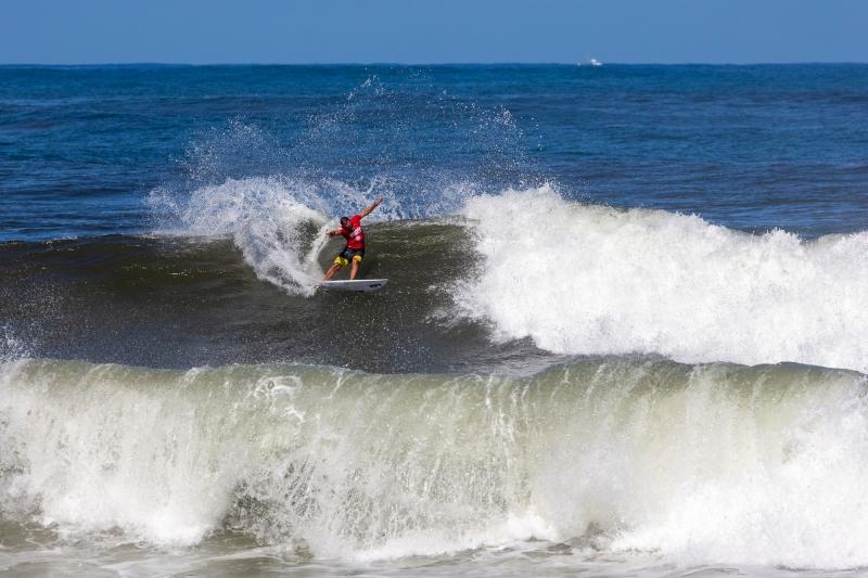 Brazil's Caio Ibelli. Photo: WSL / Keoki