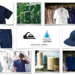 "QUIKSILVERが先端技術素材の「紙糸」を採用した""波乗りジャパン""最新コレクションを発表。"