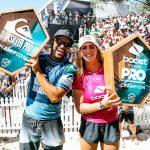 イタロ・フェレイラとキャロライン・マークスがWSLチャンピオンシップ・ツアー開幕戦で優勝