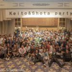 DA HUI backdoor Shootoutで大活躍した松岡慧斗と中村昭太の「Keito & Shota Party」が開催された。