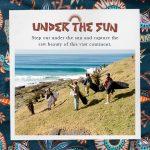 ビラボン2019春夏カラー・ストーリー第2弾。躍動感溢れる、鮮やかな色使いの「UNDER THE SUN」