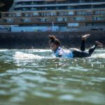 田岡なつみがメインイベント・ファイナル進出。浜瀬海はRP4で敗退。ISAロングボード世界選手権5日