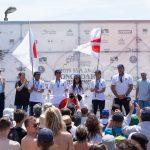 フランスが4つの個人メダル獲得でロングボード・チーム・世界チャンピオン。田岡5位、日本団体7位