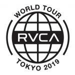 "RVCA史上最大のツアー""RVCA WORLD TOUR TOKYO""が7月29日(月)から8月3日(土)まで開催決定"