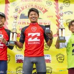堀越類、川瀬心那、酒井仙太郎が優勝。日本の未来「Billabong Super Kids Challenge Shonan」