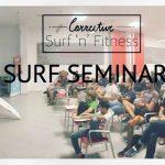 「結論、サーフィンは簡単である。」越地建とプロサーファー脇祐史による「サーフセミナー」開催。